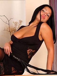 Inga knows how her husband is in love with her feet, stockings and high heels. She provides him with plenty of fun!