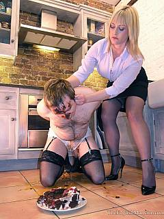 Sissy husband is being told about his household duties