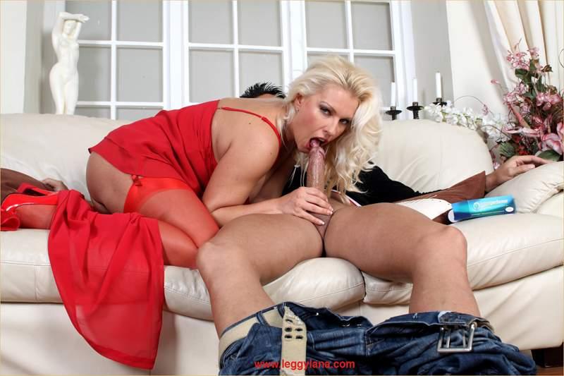 Leggy Lana Handjob