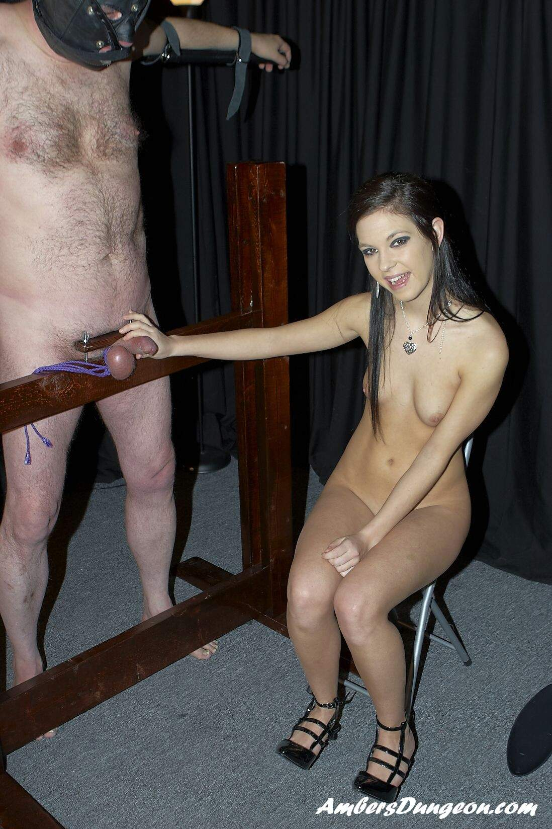Dom with big cock teaches tiny asian submissive slut to obey 6