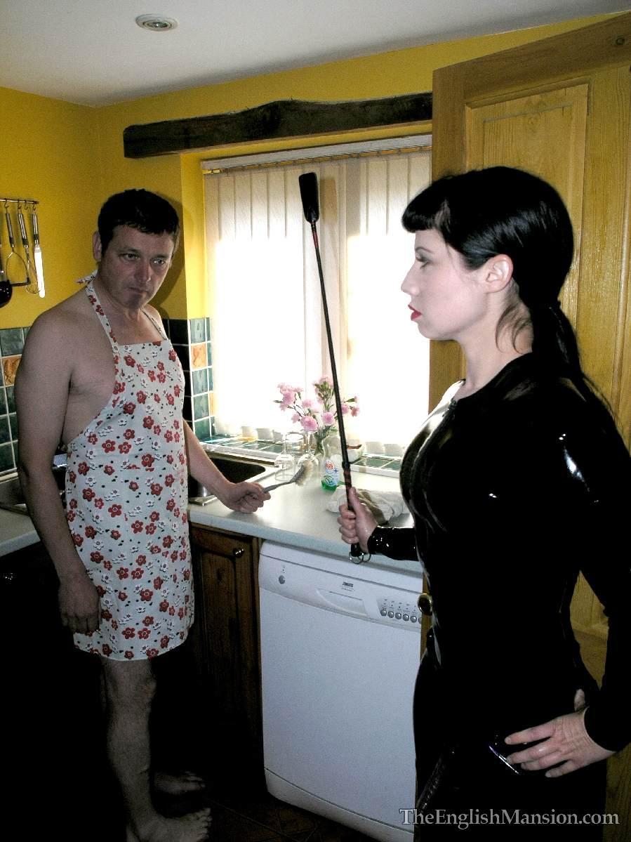 Русский раб и госпожа домашнее 2 фотография