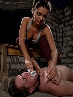 Aie my Mistress ass taste
