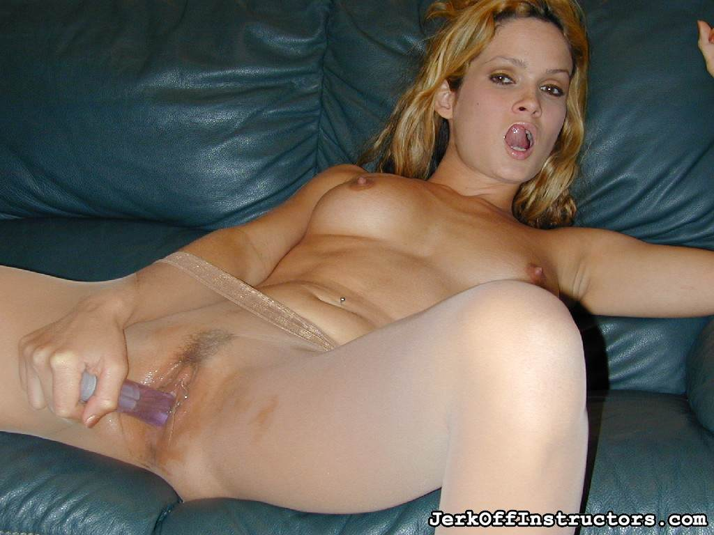 Picture #12 of Mistress loves the feeling of hard sex toy inside her nuch better that your weak penis that only penetrating wto inches of her pussy