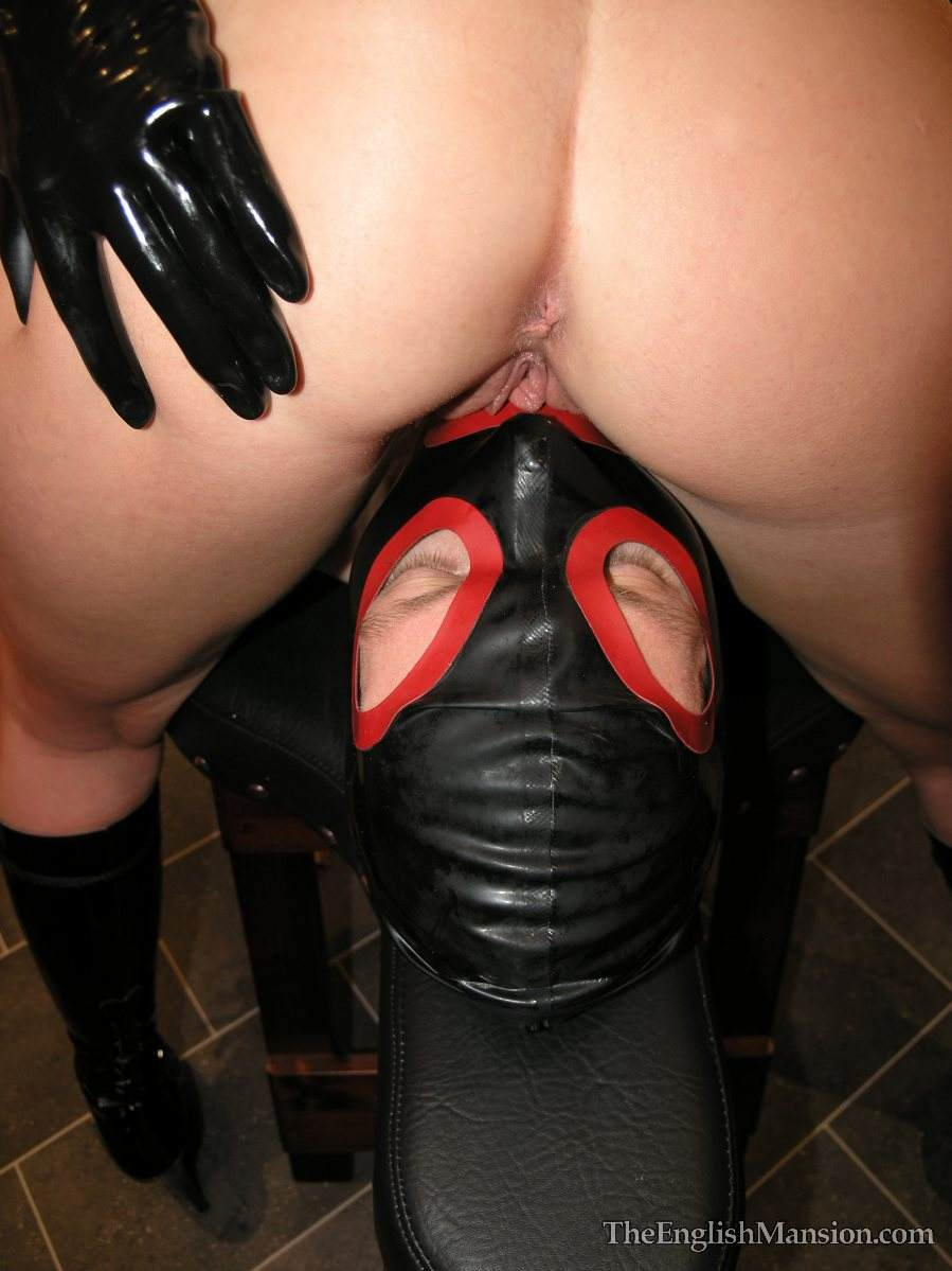 Picture #10 of Nude dominatrix is doing the tease with her wet pussy: rubbing penis hard but denying possible orgasms