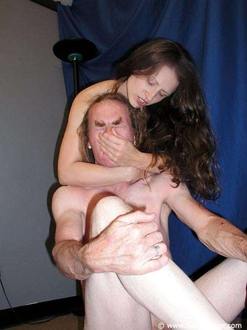 Picture #11 of Slut is humiliating the man with her ass and bits of wrestling