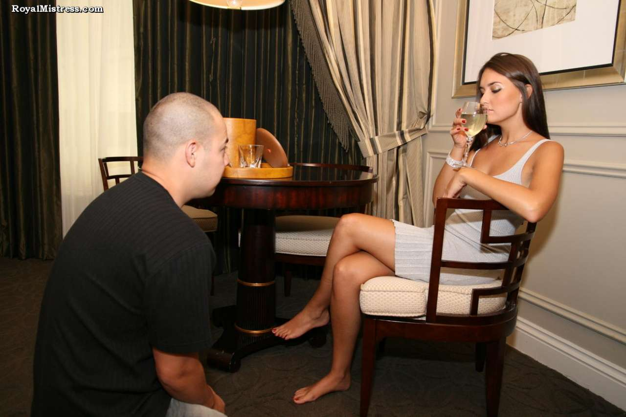 Picture #2 of That man knows for sure that bare female feet smell nice and taste amazing