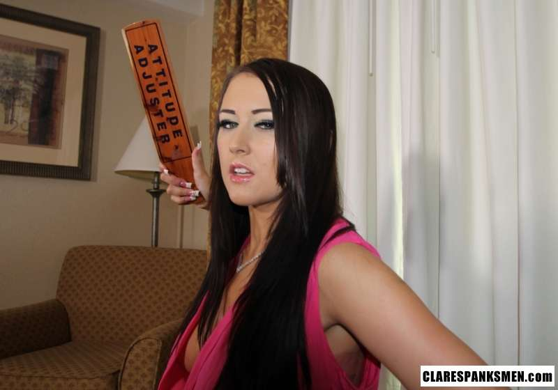 Picture #14 of Good old wooden paddle is the best thing ever invented for women to educate naughty men