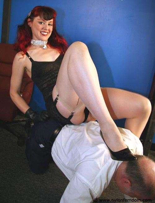 Picture #14 of Sexy redhead loves to feel a man underneath her ass: trembling and in anticipation of punishments
