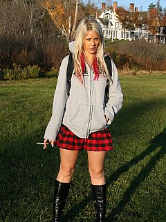 You have to wait for your teen mistress to go to school before you are to be enjoying more domination form hee