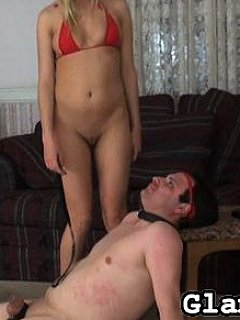 Bikini bitch is the most desirable type of female to smother submissive men